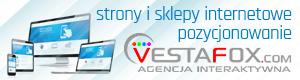 VestaFox - projekty stron internetowych